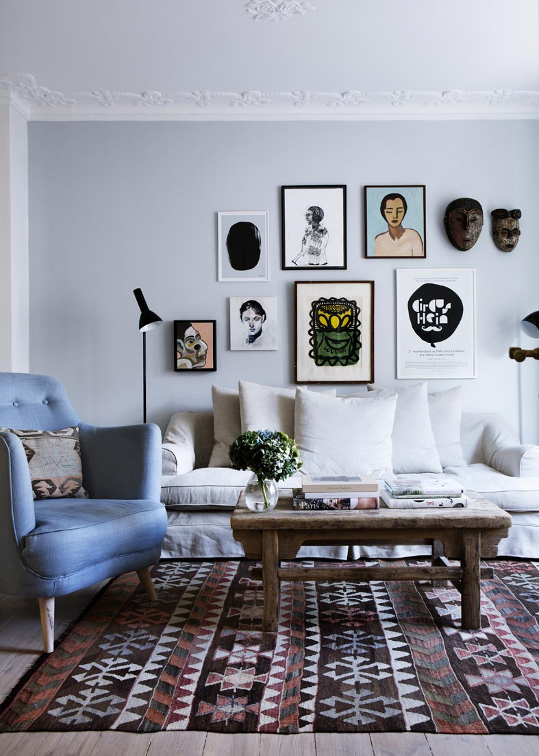 Danish design wohnzimmer  my scandinavian home: The home of a Danish fashion blogger