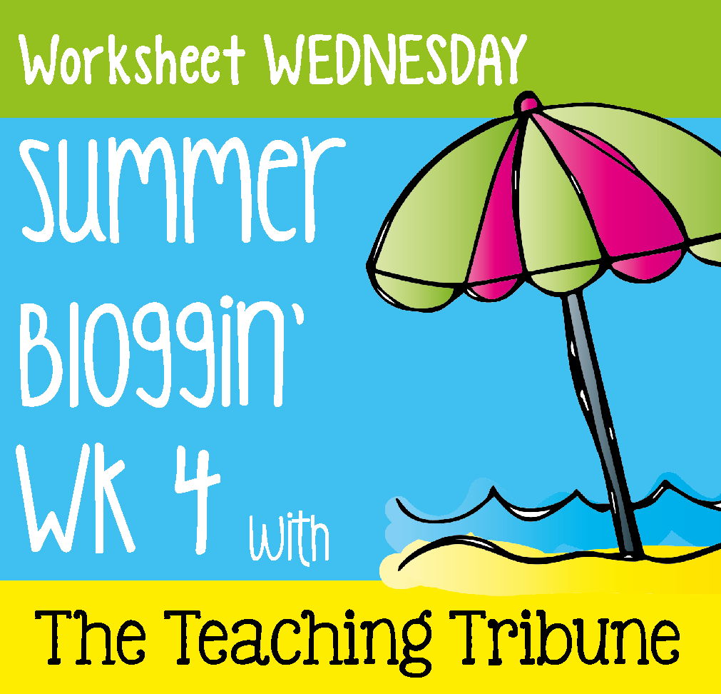 More Than Math by Mo: Free Worksheet Wednesday Link Up