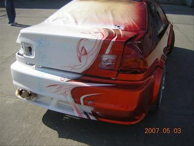 2007-Honda-Civic-Airbrush-Rear