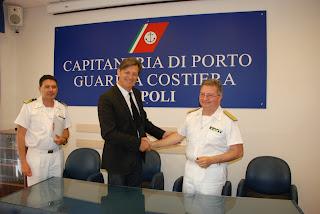 Protocollo di intesa Capitaneria Napoli e Stazione Zoologica Dohrn