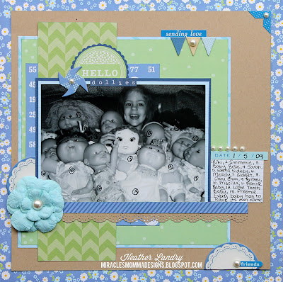 Baby Doll_Little Girl_Scrapbook Page