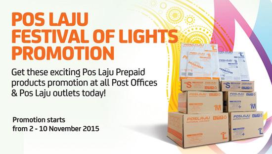 Promosi Harga Prepaid Poslaju Deepavali 2015