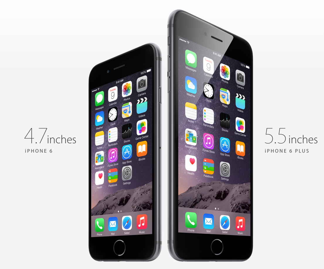 Behold, the new iPhone 6 and a plus is now here