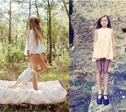 10-Year-Old Vogue Model Pictures, Thylane Lena-Rose Blondeau Photos