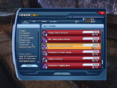 DC Universe Online - Valorous Wingman's Blades