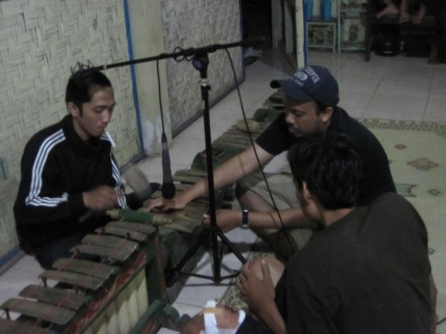Recording Gamelan