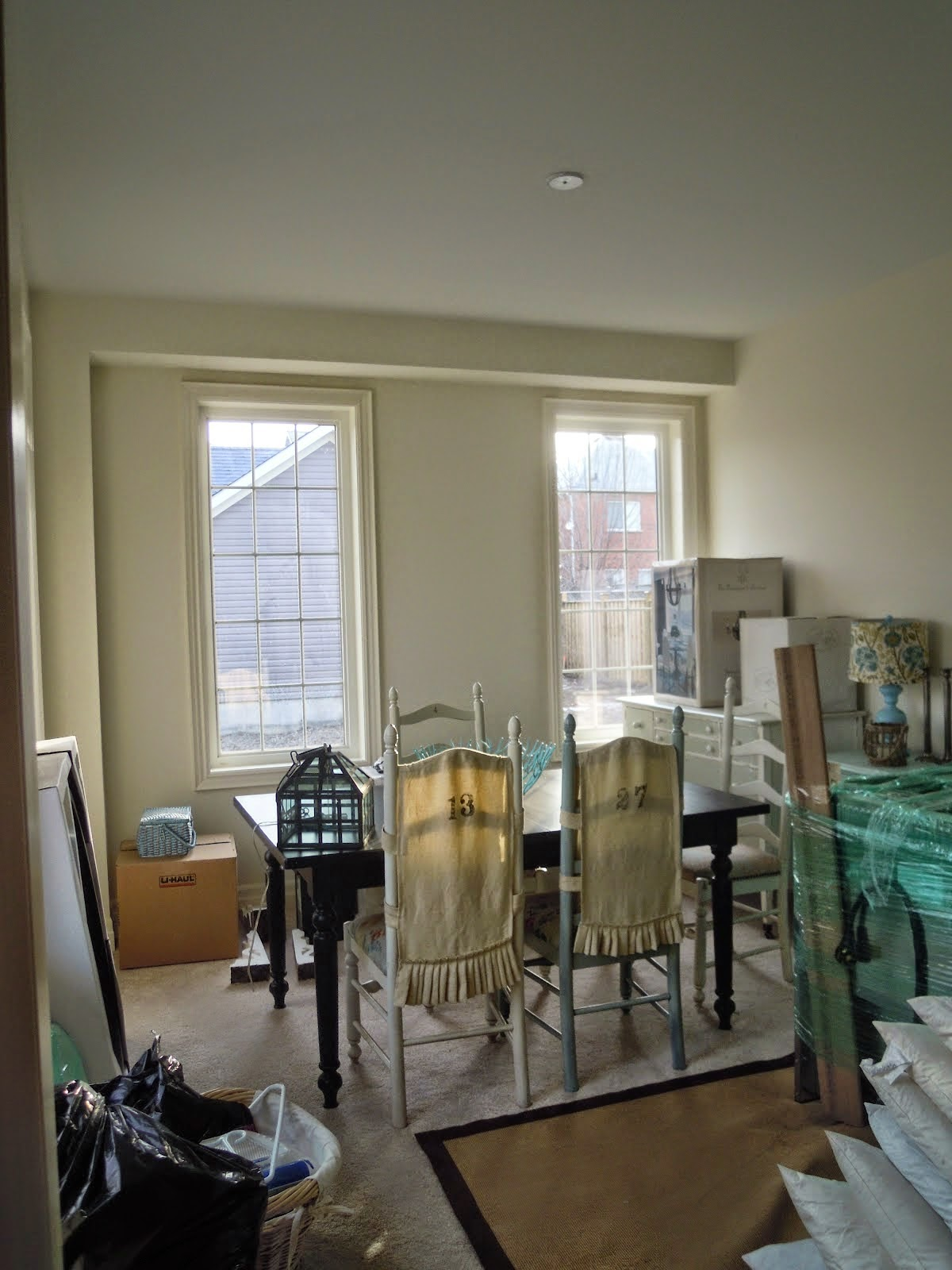 White Wood : My dining room makeover from start to finish ...
