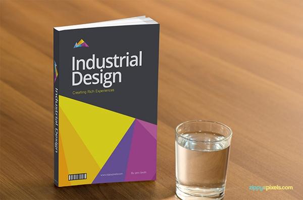 Download Gratis Mockup Majalah, Brosur, Buku, Cover - Free Book Cover PSD Mockup