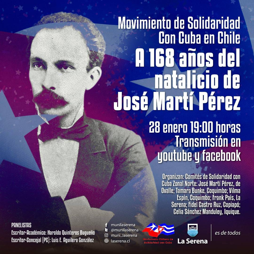 A 168 AÑOS DEL NATALICIO DE JOSÉ MARTÍ