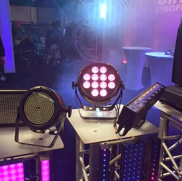 Chauvet Big LEDs At NAMM 2014 image