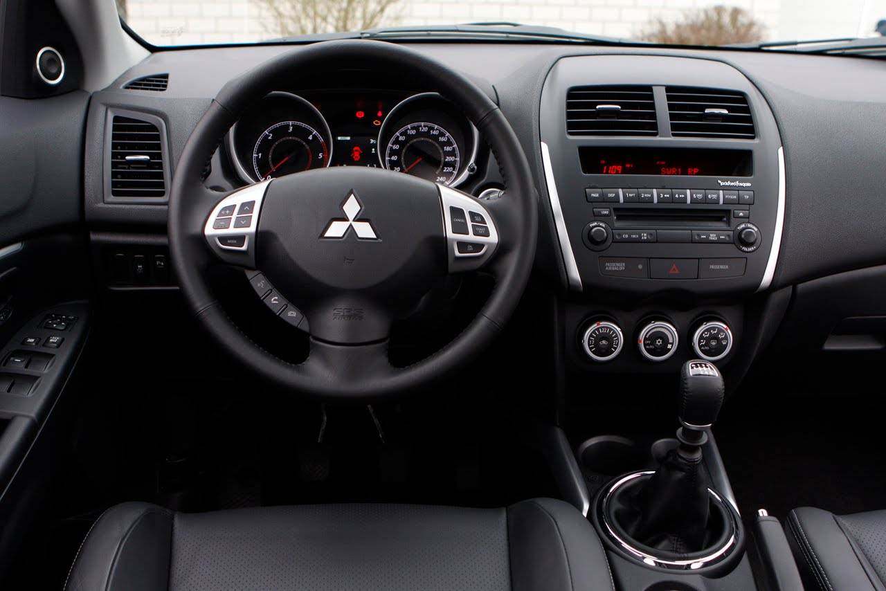 Mitsubishi Asx 2011 Manual