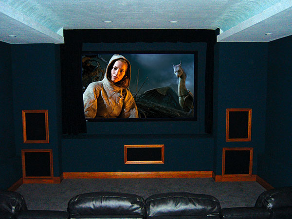 DIY Home Theater Rooms
