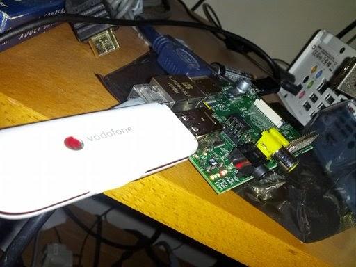 Raspberry Pi e envio de SMS