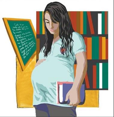 Madres adolescentes - Monografiascom