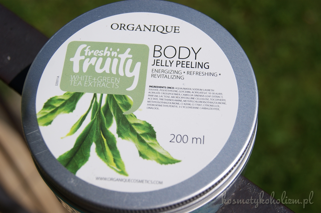 ORGANIQUE | Fresh'n'Fruity Body Jelly Peeling White + Green Tea Extracts