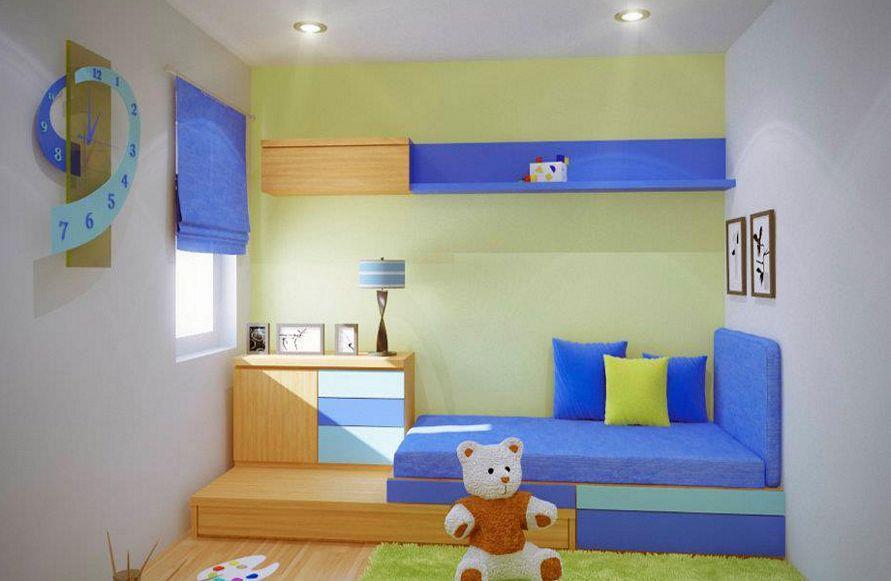 kreasi cat interior kamar tidur anak idaman