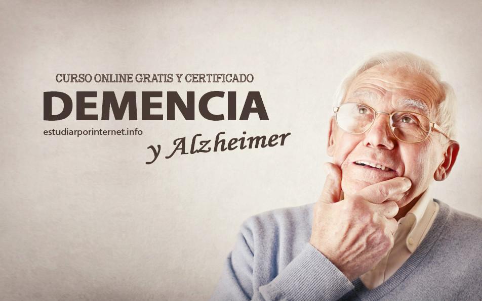 Curso online gratis sobre demencia y alzheimer con for Cursos de jardineria y paisajismo gratis