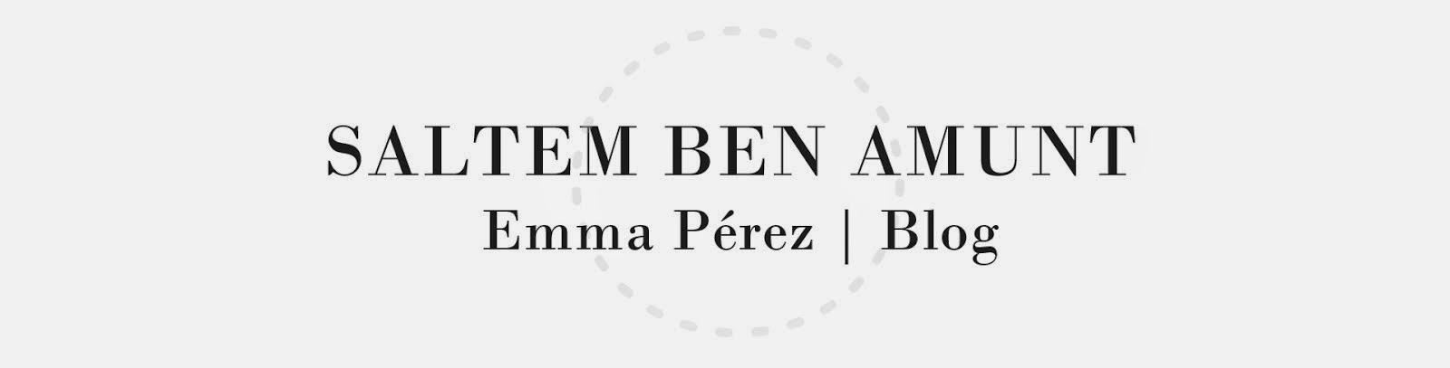 Saltem ben amunt | Emma Pérez Blog