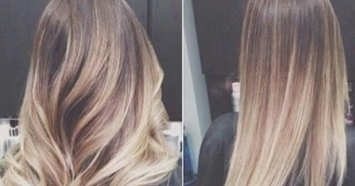 Blonde Ombre Hairstyles Colors: FLUID HAIR PAINTING
