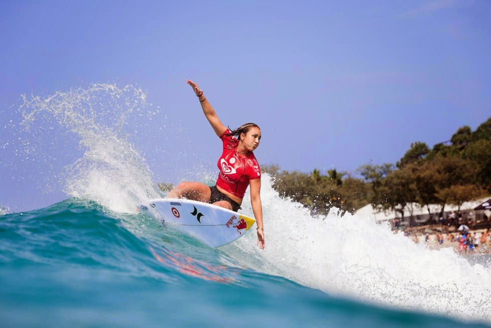 17 Roxy Pro Gold Coast 2015 Carissa Moore Foto WSL Kelly Cestari