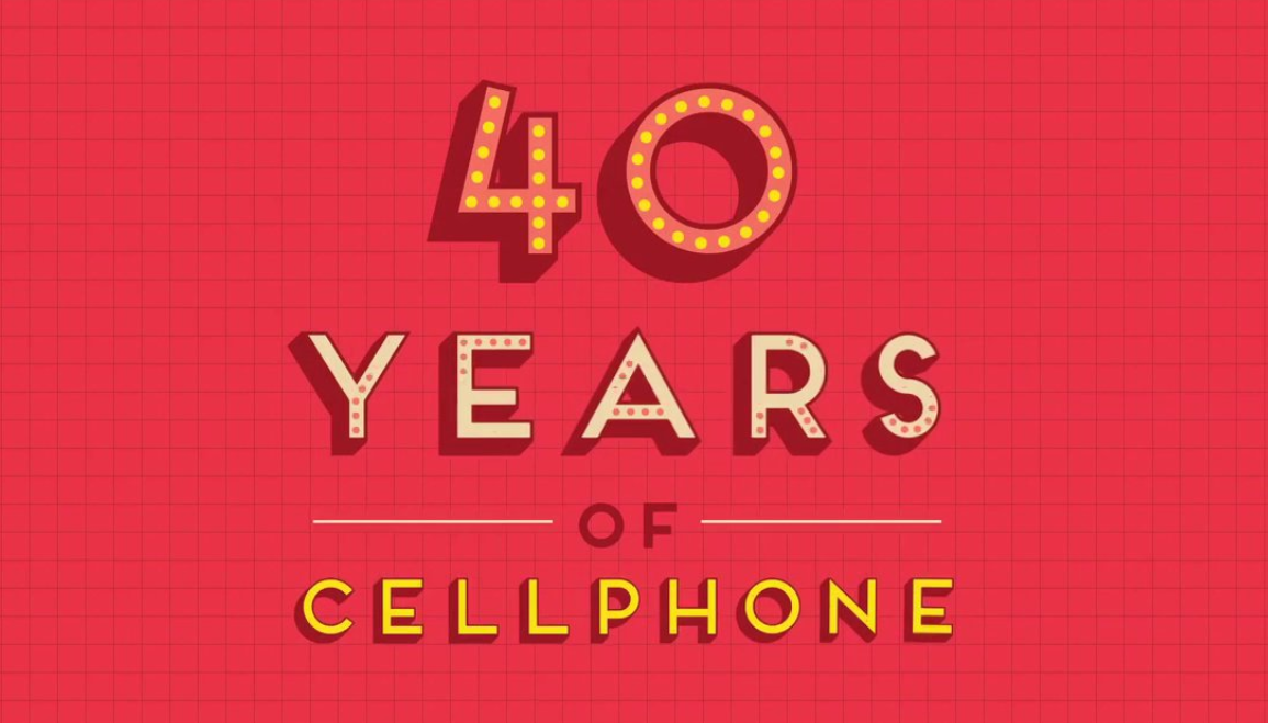 40 years of mobile phone