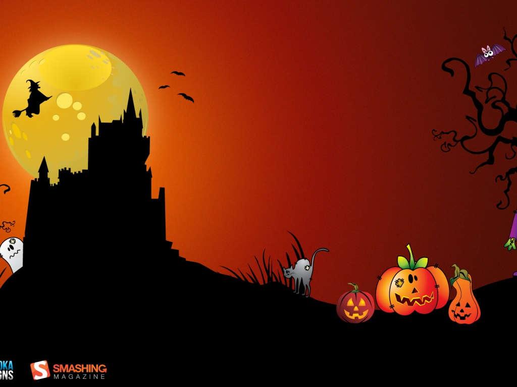 free desktop wallpaper halloween wallpaper background
