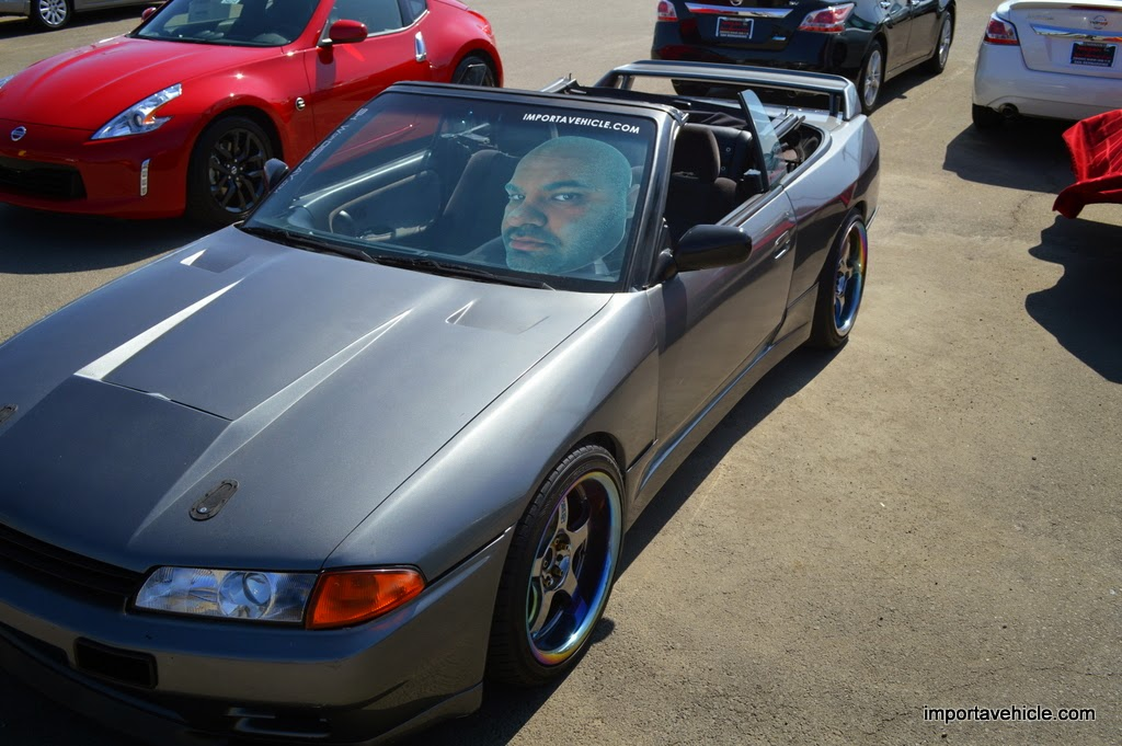 This Is Not An R32 GT R Convertible. It Is However KH2 Or Gunmetal