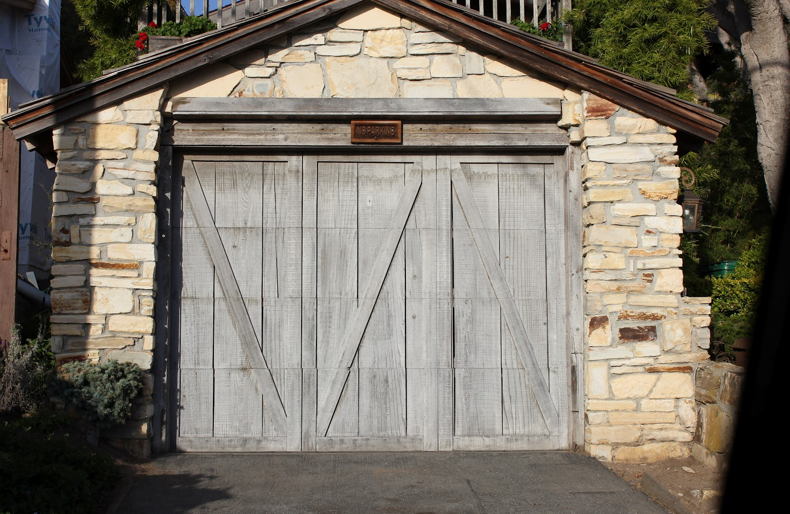 European farmhouse charm our garage door makeover a for European garage doors