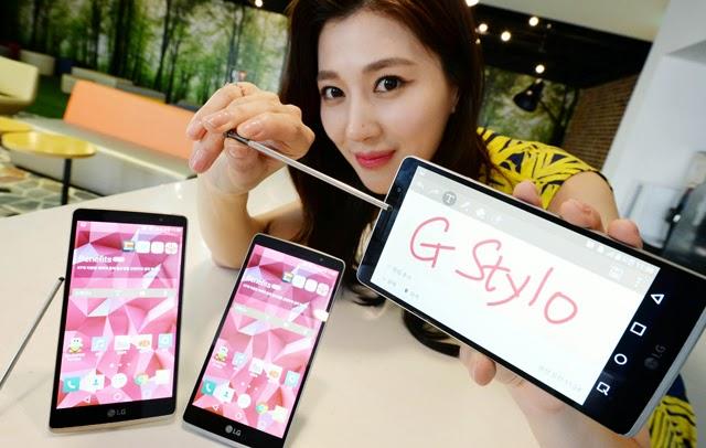 إل جي تكشف رسميا عن LG G Stylo