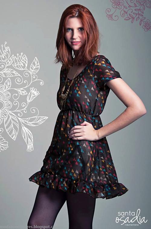 Vestidos de moda 2014 Santaosadía.