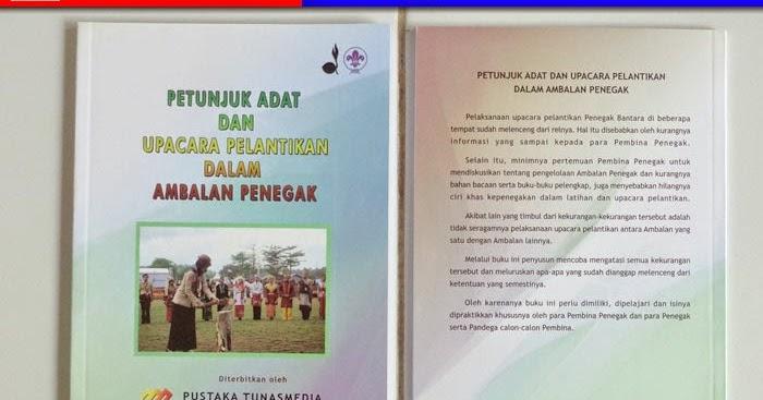 Buku Pramuka Petunjuk Adat Dan Upacara Pelantikan Dama