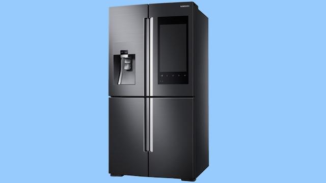 Refrigerador da Samsung permite verificar o que está dentro, enquanto você está no supermercado.