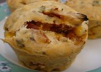 Muffin Salgado (vegana)