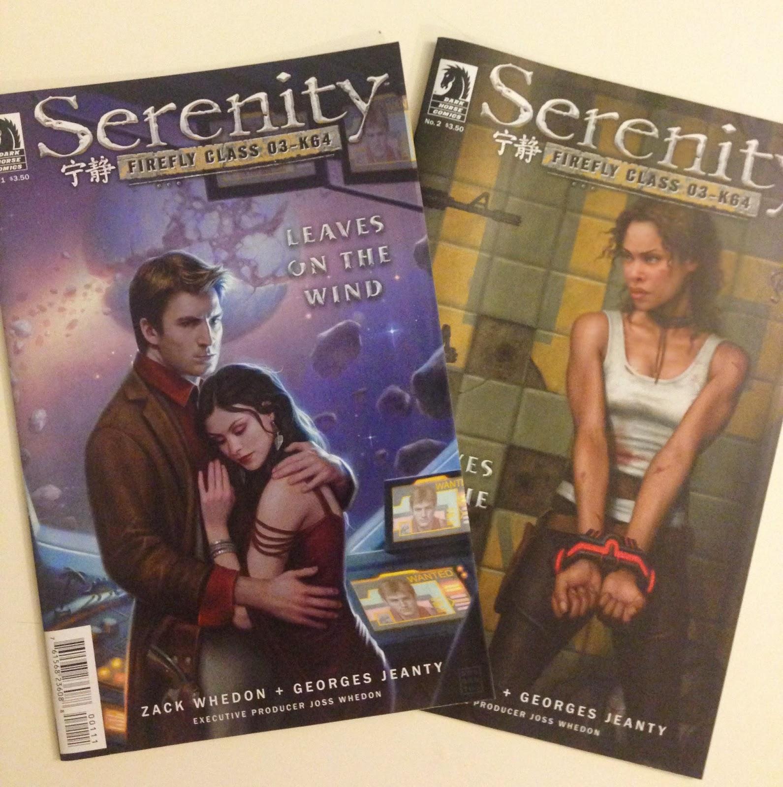 serenity firefly joss whedon comic book