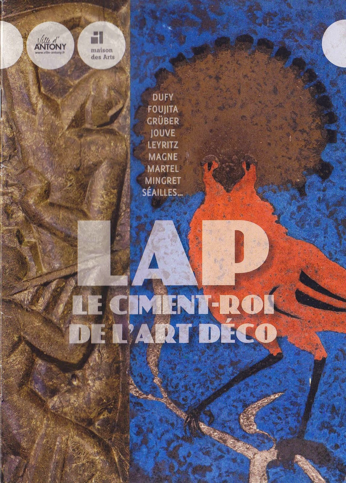 Exposition LAP Le ciment-roi de l'Art Déco