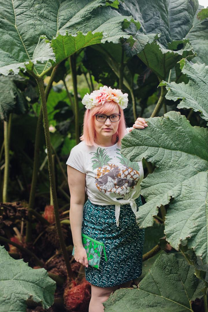 Club Tropicana, pinapples print, Girl Gang weekender, Styled by Kimberley, Edinburgh Blogger, award winning style blogger,