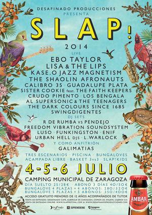 31 de 41   Llega el SLAP! FESTIVAL al Camping de Zaragoza