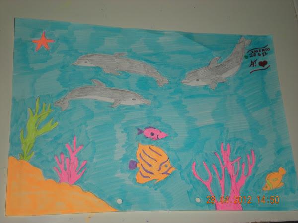 Για την 2η μου θέση στον 1ο διαγωνισμό απ' το δελφινάκι!