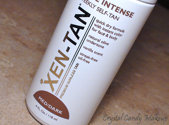 Mousse Intense Weekly Self-Tan de Xen-Tan