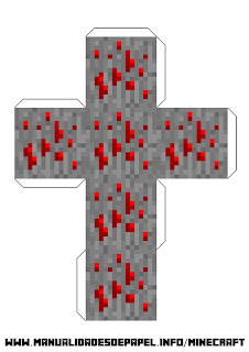 Crear bloque minecraft de piedra roja