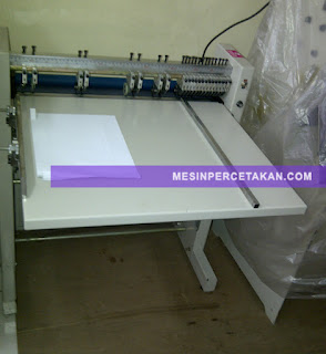 Mesin Perforasi Kertas