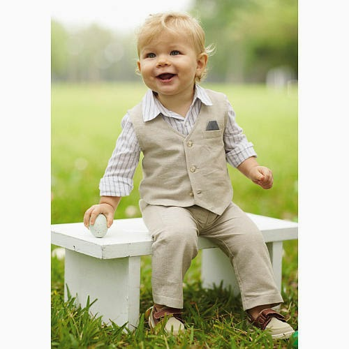 Family easter outfit idea fw style blog a long sleeve button up paired with kaki shorts or pants is a great outfit choice for boys the perfect shoe to match is something that has velcro or laces negle Images