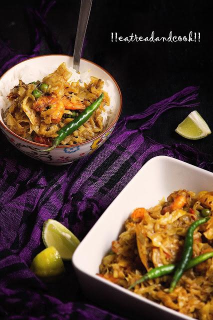 bandhakopi chingri tarkari recipe bengali