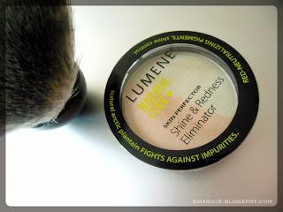 Lumene – Natural Code – puder redukujący zaczerwienienia [recenzja]