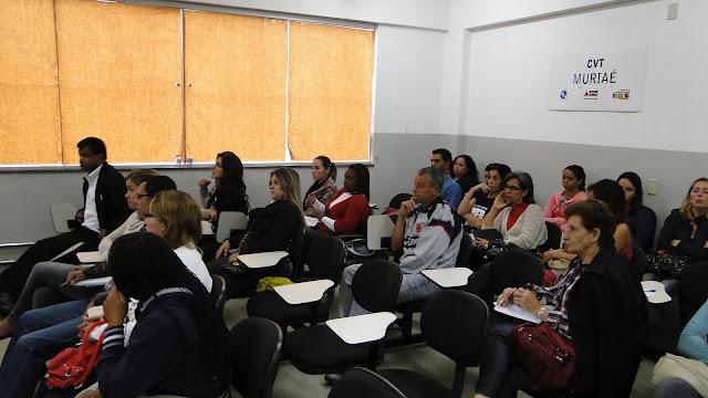 Capacitação de conselheiros tutelares e de Direito acontece no Centro Vocacional Tecnológico de Muriaé