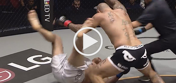 Brandon Vera BRUTALLY Knocked Out Paul Cheng In 26 seconds - ONE FC (VIDEO)