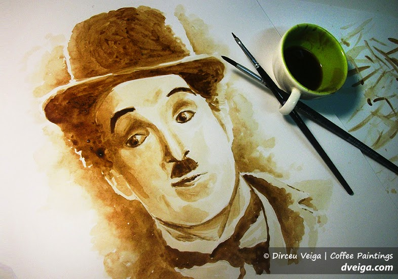 17-Charlie-Chaplin-Dirceu-Veiga-Coffee-Good-for-Drinking-and-Good-for-Painting