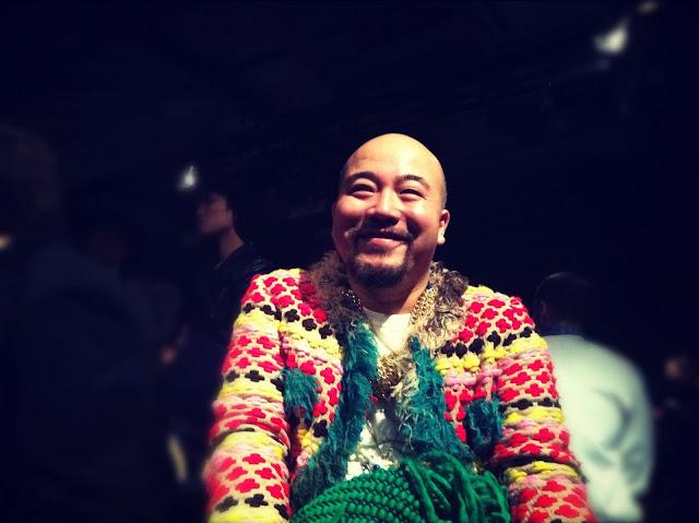 Wyman Wong 黃偉文 MIHARAYASUHIRO FALL WINTER 2012 2013 BACKSTAGE PARIS MENS FASHION WEEK