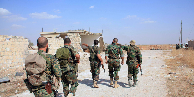 Supported by Russia, Syrian regime forces edges towards rebels