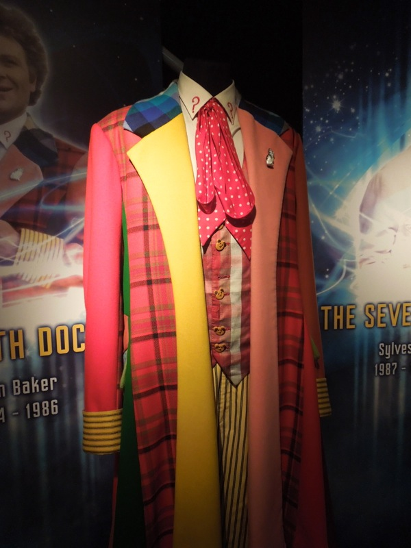 Patchwork Sixth Doctor Who costume